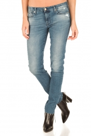 7 For All Mankind | Skinny jeans Monki | blauw  | Afbeelding 2