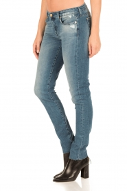 7 For All Mankind | Skinny jeans Monki | blauw  | Afbeelding 4