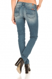 7 For All Mankind | Skinny jeans Monki | blauw  | Afbeelding 5