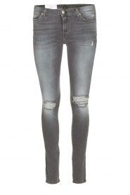 7 For All Mankind | Jeans Ripped Knee | grijs  | Afbeelding 1