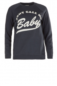 Sweater Don't Call Me Baby | blauw