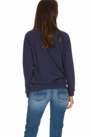 Zoe Karssen |  Sweater Don't Call Me Baby | blue  | Picture 5