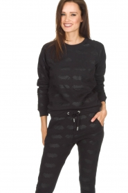 Zoe Karssen |  Sweater Bat | black  | Picture 2