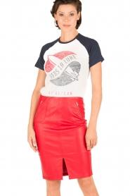 Zoe Karssen | T-shirt Lune | wit  | Afbeelding 2