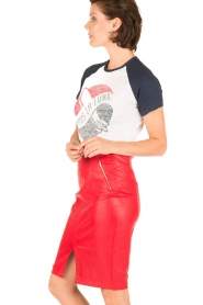 Zoe Karssen | T-shirt Lune | wit  | Afbeelding 4