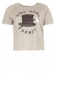 Zoe Karssen | T-shirt Ding Dong Dandy | grijs  | Afbeelding 1