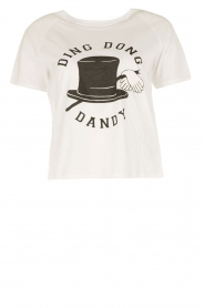 T-shirt Ding Dong Dandy | white