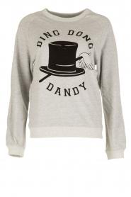 Zoe Karssen | Sweater Ding Dong Dandy | grijs  | Afbeelding 1