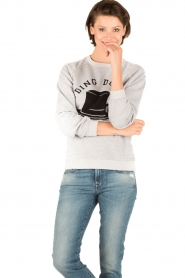 Zoe Karssen |  Sweater Ding Dong Dandy | grey  | Picture 2