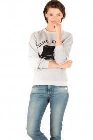 Zoe Karssen | Sweater Ding Dong Dandy | grijs  | Afbeelding 2
