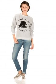 Zoe Karssen |  Sweater Ding Dong Dandy | grey  | Picture 3