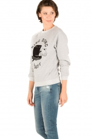Zoe Karssen |  Sweater Ding Dong Dandy | grey  | Picture 4