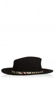 ba&sh |  Woollen hat Heart | black  | Picture 1