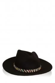 ba&sh |  Woollen hat Heart | black  | Picture 3