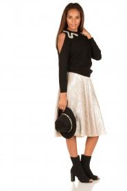 ba&sh |  Woollen hat Heart | black  | Picture 2