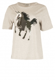 Essentiel Antwerp | T-shirt Omylord | grijs  | Afbeelding 1