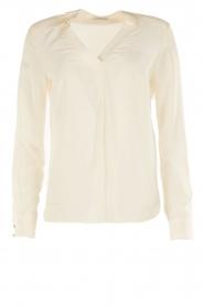IKKS | Zijden blouse Sil | wit  | Afbeelding 1