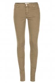 IKKS | Skinny jeans Peppa | groen  | Afbeelding 1