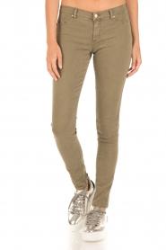 IKKS | Skinny jeans Peppa | groen  | Afbeelding 2