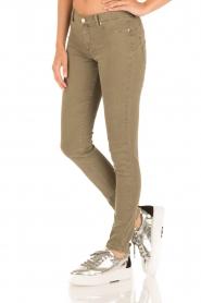 IKKS | Skinny jeans Peppa | groen  | Afbeelding 4