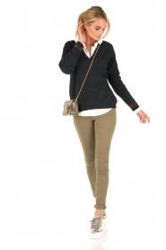 IKKS | Skinny jeans Peppa | groen  | Afbeelding 3