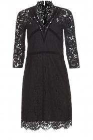 Set | Kanten jurk Feline | zwart  | Afbeelding 1