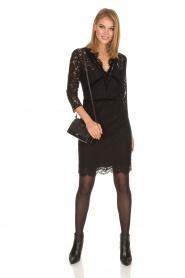 Set | Kanten jurk Feline | zwart  | Afbeelding 3