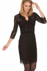 Set | Kanten jurk Feline | zwart  | Afbeelding 4