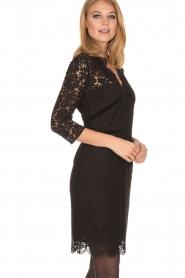 Set | Kanten jurk Feline | zwart  | Afbeelding 5