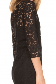 Set | Kanten jurk Feline | zwart  | Afbeelding 7