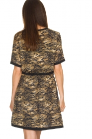 Set |  Animal print dress Della | animal print  | Picture 4