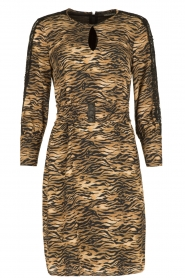 Set |  Animal print dress Delmira | animal print  | Picture 1