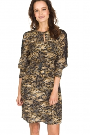 Set |  Animal print dress Delmira | animal print  | Picture 2
