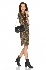 Set |  Animal print dress Delmira | animal print  | Picture 3