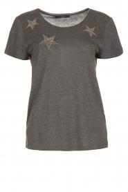 Set | T-shirt Benthe | grijs  | Afbeelding 1