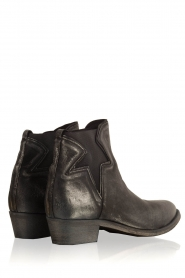 Maluo |  Leather ankle boots Star | metallic  | Picture 4