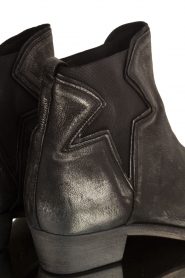 Maluo |  Leather ankle boots Star | metallic  | Picture 5
