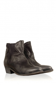 Maluo |  Leather ankle boots Star | metallic  | Picture 3