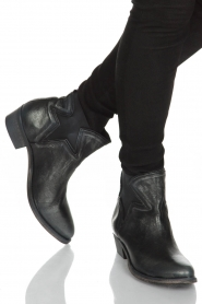 Maluo |  Leather ankle boots Star | metallic  | Picture 2