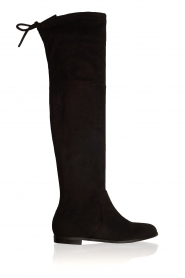 Maluo |  Faux suede boots Julie | black  | Picture 1