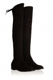 Maluo |  Faux suede boots Julie | black  | Picture 3