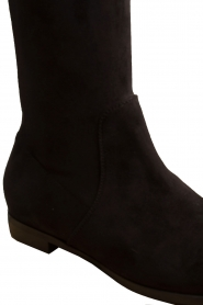 Maluo |  Faux suede boots Julie | black  | Picture 6