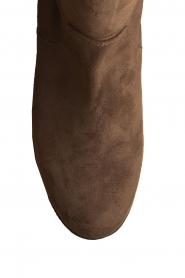 Maluo | Faux suède laarzen Julie | taupe  | Afbeelding 5