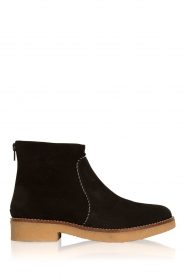 Maluo |  Suede ankle boots Playa | black  | Picture 1