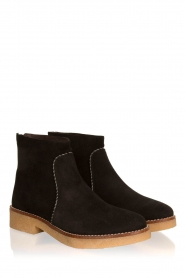 Maluo |  Suede ankle boots Playa | black  | Picture 4