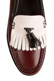 G.H. Bass & Co. | Leren loafers Weejun Esther Kiltie | rood  | Afbeelding 6