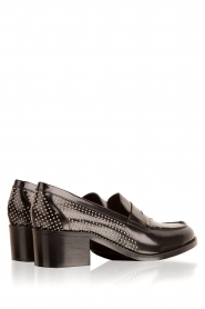 G.H. Bass & Co. |  Leather loafers Weejun Penny Stud | black  | Picture 4