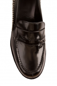 G.H. Bass & Co. |  Leather loafers Weejun Penny Stud | black  | Picture 6