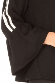 Atos Lombardini |  Sweater Two Stripes | black   | Picture 6