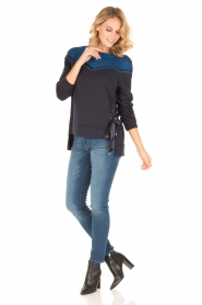 Atos Lombardini |  Sweater Blocking | blue   | Picture 3